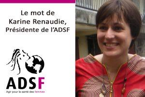 presidente-karine renaudie adsf santé femmes