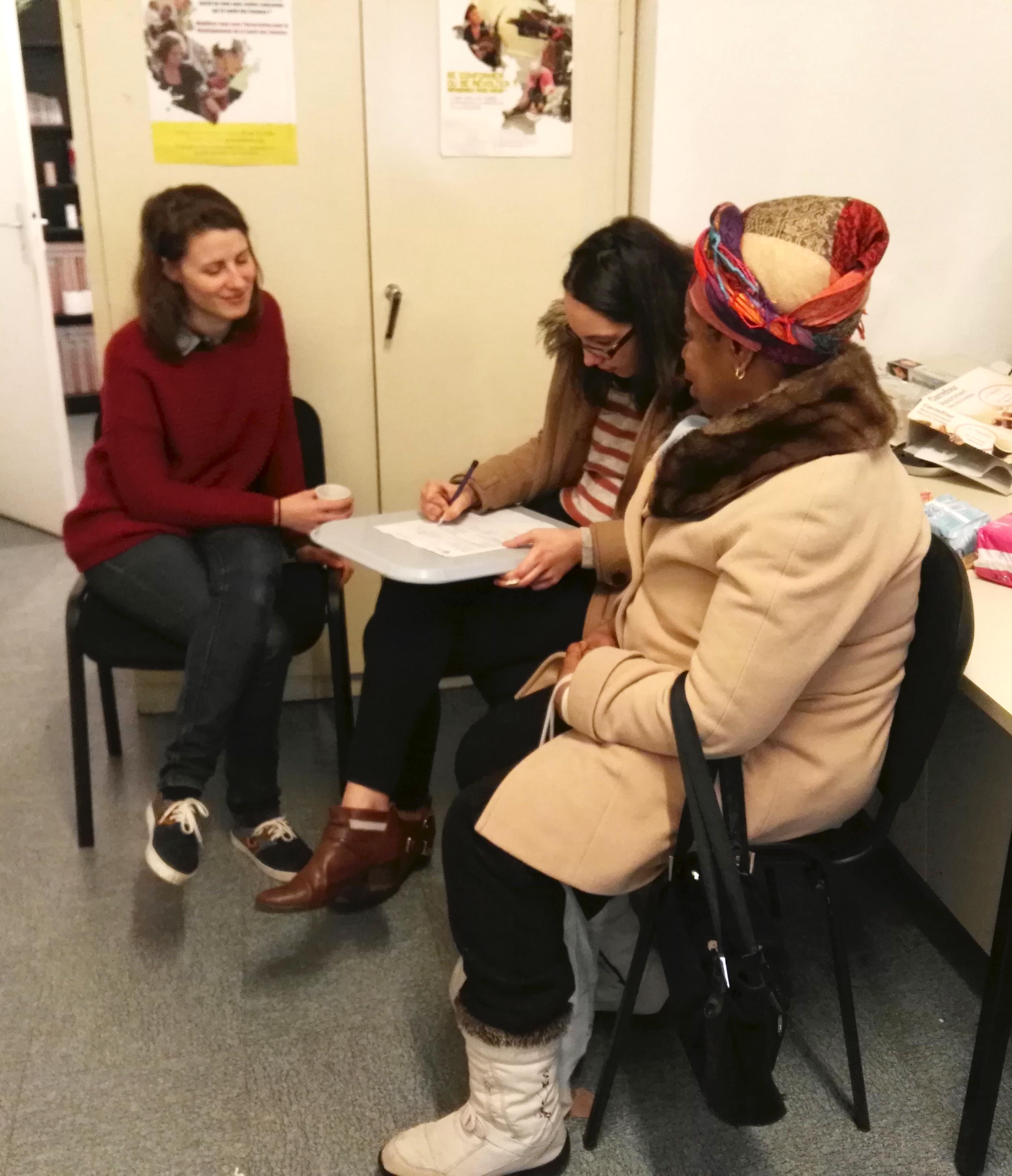 adsf distribution soins paris sante femmes sdf