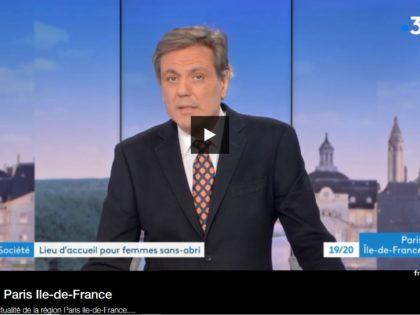 Reportage France 3 JT 19/20 – Novembre 2018