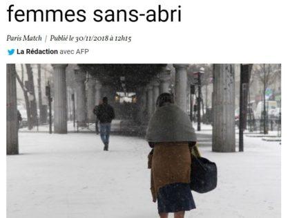 Article Paris Match – Novembre 2018