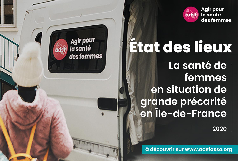État des lieux : la santé des femmes en situation de grande précarité en Île-de-France. 2020